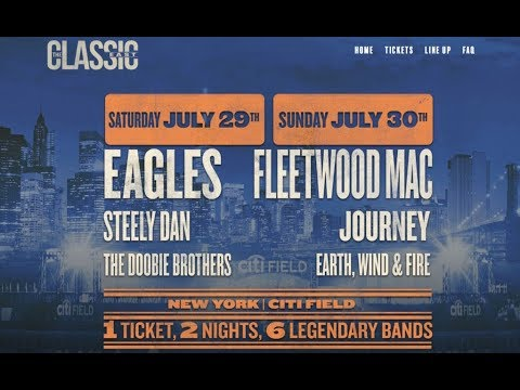 The Classic East Tour - Citi Field, New York City