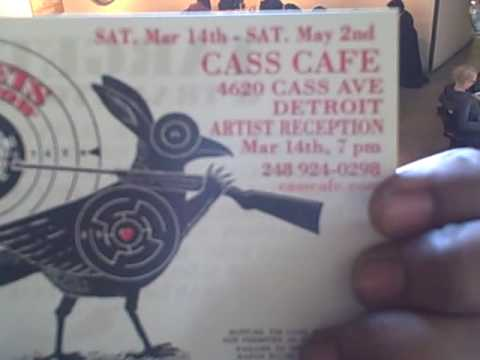 """""""TARGETS & TRAJECTORIES"""" at the Cass Cafe"""