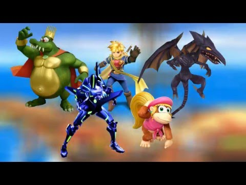 My ideas for a Super Smash Bros. Wii U/3DS remake on Nintendo NX