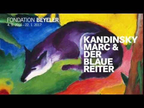 KANDINSKY, MARC & DER BLAUE REITER  SEPTEMBER 4, 2016 – JANUARY 22, 2017