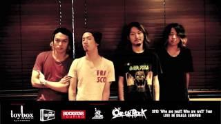 ONE OK ROCK Live in Kuala Lumpur 2013 PV