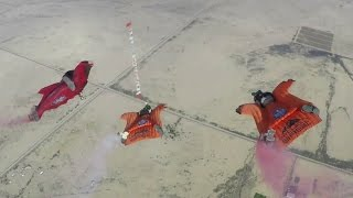 Wingsuit Helicopter Slalom – Red Bull Aces