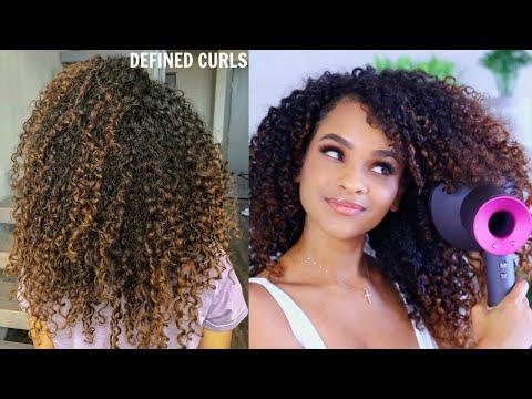 How I Get SUPER Defined Curls thumbnail