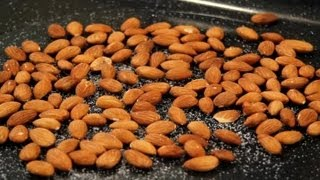 How to Make Salted, Roasted Almonds : Nuts, Milk, Seeds & Grains