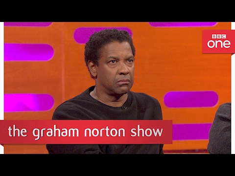 Denzel Washington's audience get involved - The Graham Norton Show: 2017 - BBC One