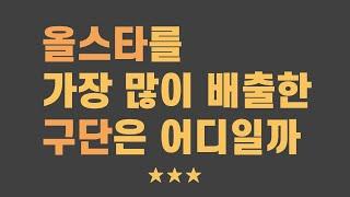 [KBO 올스타전 특집] 올스타를 가장 많이 배출한 구…