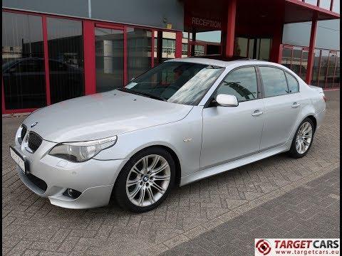 740791 BMW 545I E60 SEDAN 4.4L V8 M-SPORT 333HP 06-05 SILVER 111017KM LHD