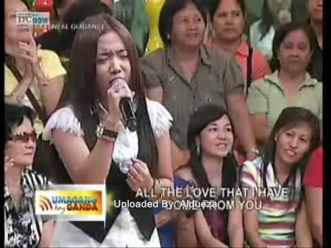 Always You  - Charice Pempengco ( Umg Live Full Song Episode )