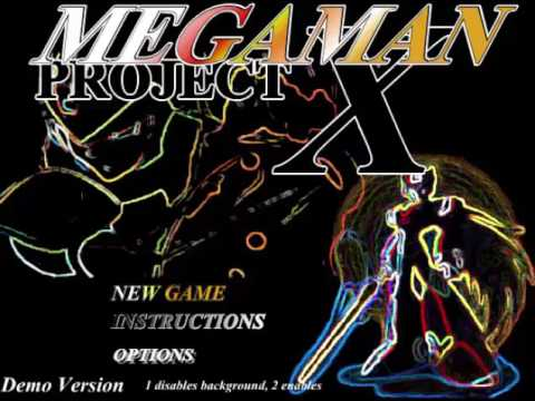 MEGAMAN PROJECT X MAIN THEME a Fan made Flash Game