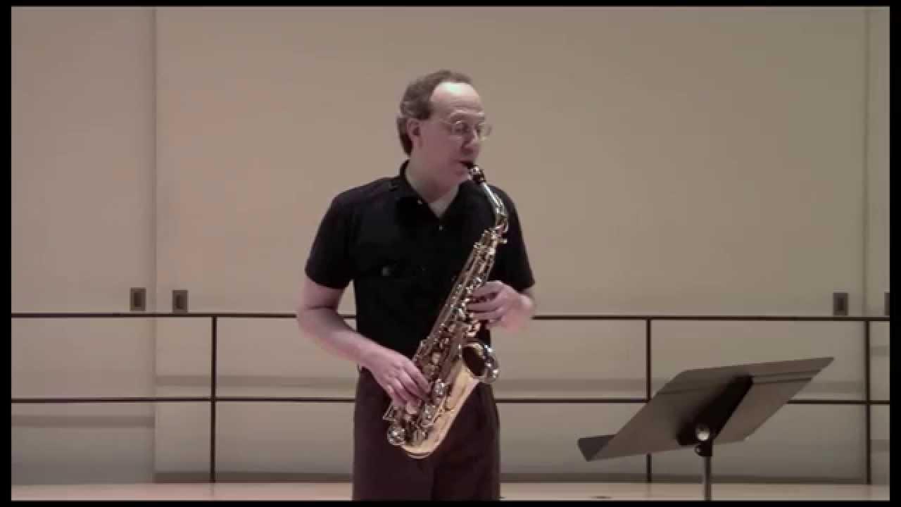 Gabriel Riccio:  Winding Through Angles, for solo alto saxophone