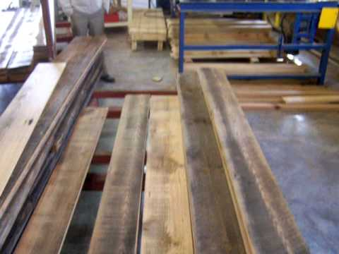 Building box beams from reclaimed heart pine youtube for How to build a box beam