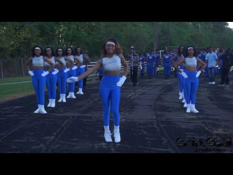 McKinley High Band & Pantherettes Marching In (2017) | Wavefest IV