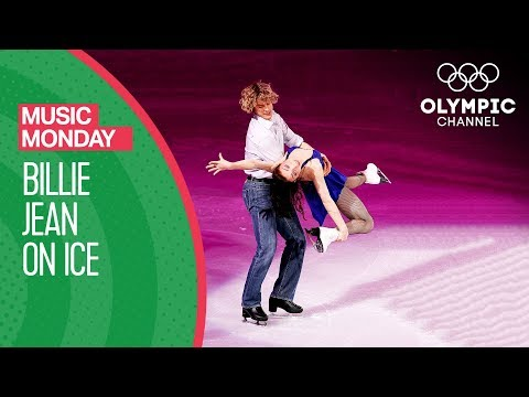 Meryl Davis & Charlie White figure skating to Billie Jean | Music Monday