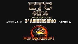 ETC RonsVain (Sektor) Vs ETC Cazuela (Mileena) BO5 MK9 Exhibition 3rd Anniversary ETCCHILE