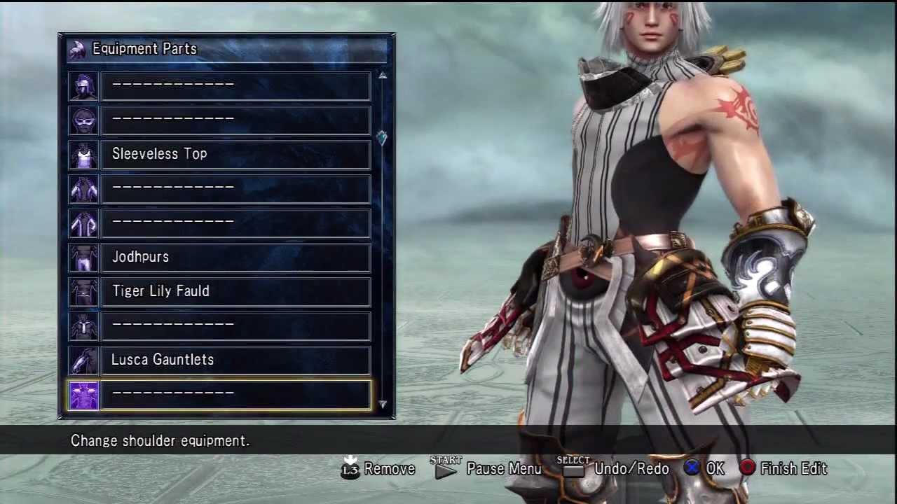 Soul Calibur V - Haseo Xth Form Character Creation + VS AIDA Ovan ...