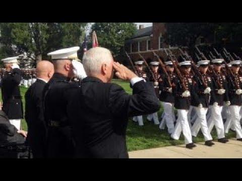 Mike Pence honors heroes lost in Beirut barracks bombing