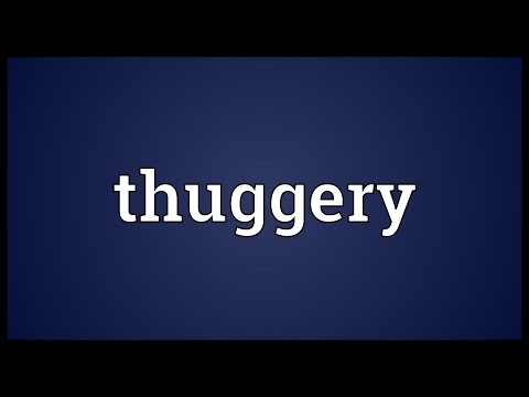 Header of thuggery