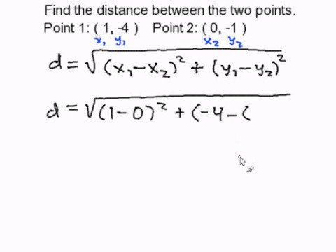 find distance between two points google maps