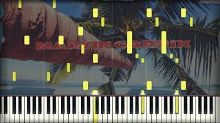 Martin Garrix feat. Macklemore - Summer Days | Piano Tutorial | Karaoke
