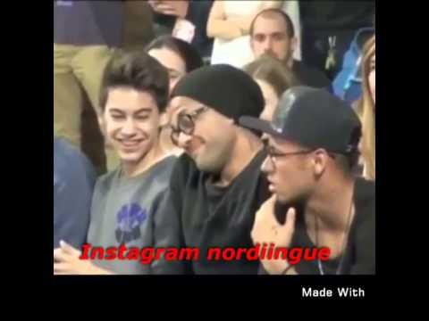 Neymar et Daniel alves_cholé cholé les algériens danger(ambiance algérienne yahhhhhhhh )2015