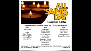 Lely Church Service  - 11-01-2020 - All Saints Day