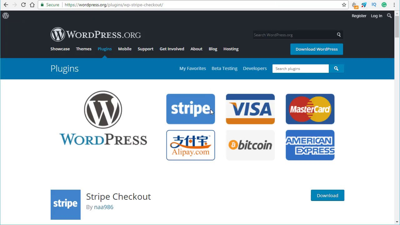 WordPress Stripe Checkout Plugin – WordPress plugin