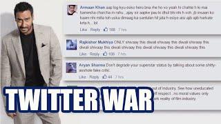 3 famous twitter wars: Kamaal R Khan KRK Vs Ajay Devgn FULL STORY