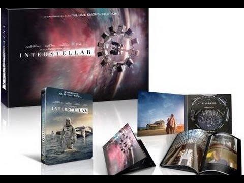 Interstellar Coffret Collector - Edition Spéciale Fnac Unboxing