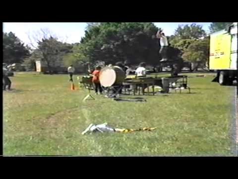 Needham Broughton High School Band-Field Show Rehearsal 1987
