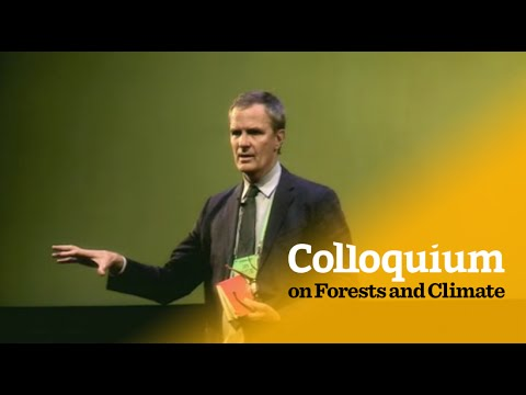 Colloquium on Forests & Climate: Daniel Nepstad on environmental & social integrity