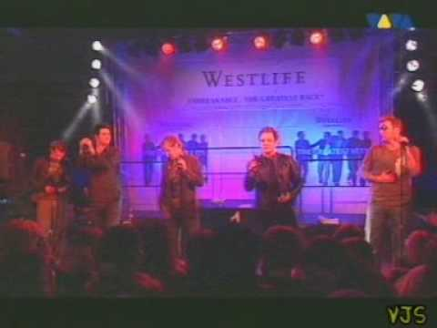 Westlife - Tonight (live)