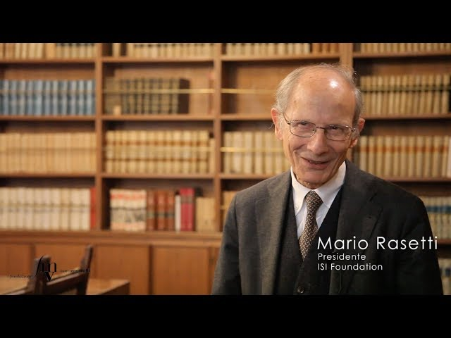 Mario Rasetti - L'Intelligenza Artificiale ha il nome sbagliato