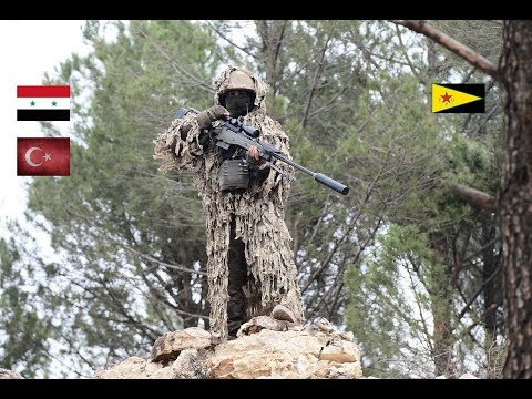 News. How Turkish snipers work in Afrin