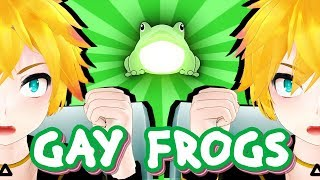 【MMD | Short】GAY FROGS【+Motion DL】