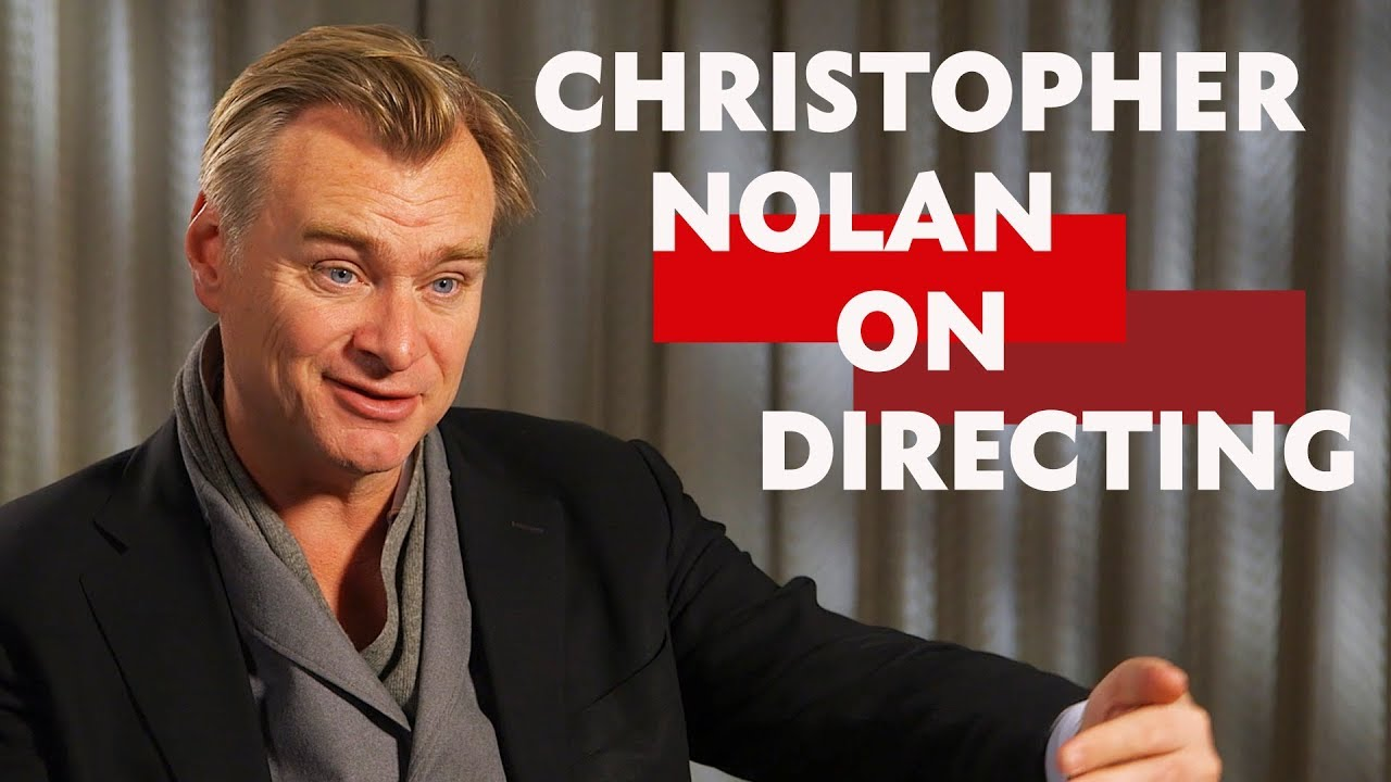 """""""It's really about sticking to your guns""""   Christopher Nolan on Directing"""