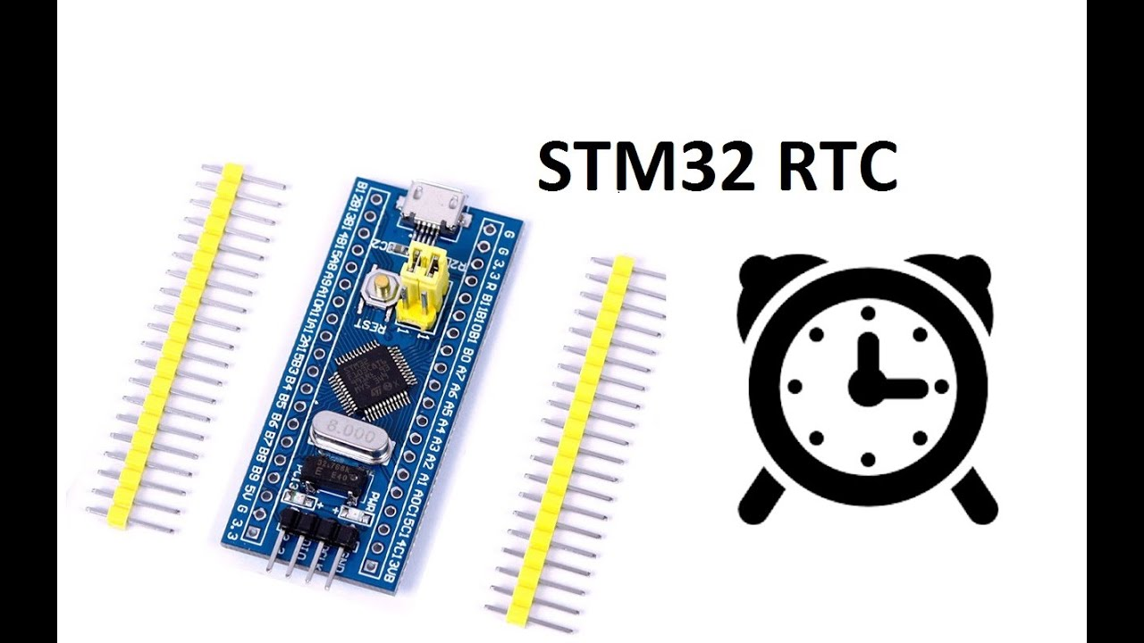 STM32Cube STM32F103 RTC настройка