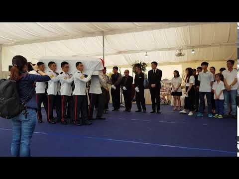 The military funeral of 3SG Gavin Chan Hiang Cheng