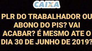 """""""PLR DO TRABALHADOR"""" ou como é mais conhecido abono do PIS por @netinhodacaixa"""