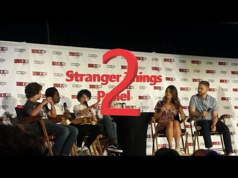 Stranger Thing Panel @ Fan Expo 2017! Part 2