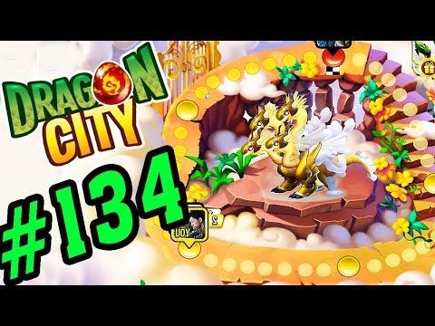 DRAGON CITY - Cuộc Đua Heroic Giành Rồng 4 Đầu - GAME NÔNG TRẠI RỒNG #134