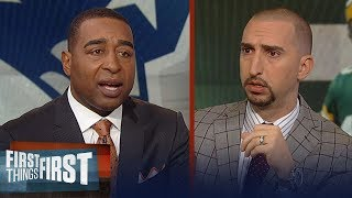 Cris and Nick break down possible fit for Packers' next head coach | NFL | FIRST THINGS FIRST