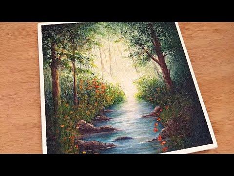 Como Pintar Bosque