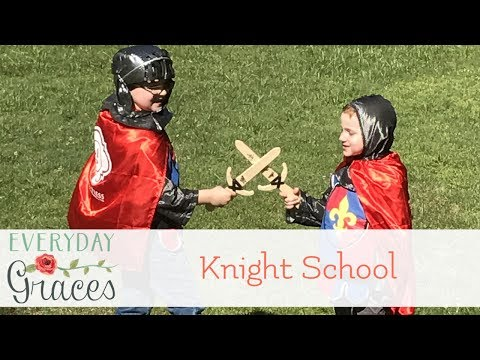 Knight School With Knights In Training