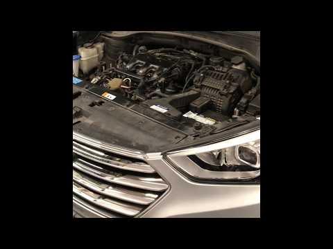 2013 Hyundai Santa Fe Crankshaft Position Sensor Replacement With 3.3L Engine