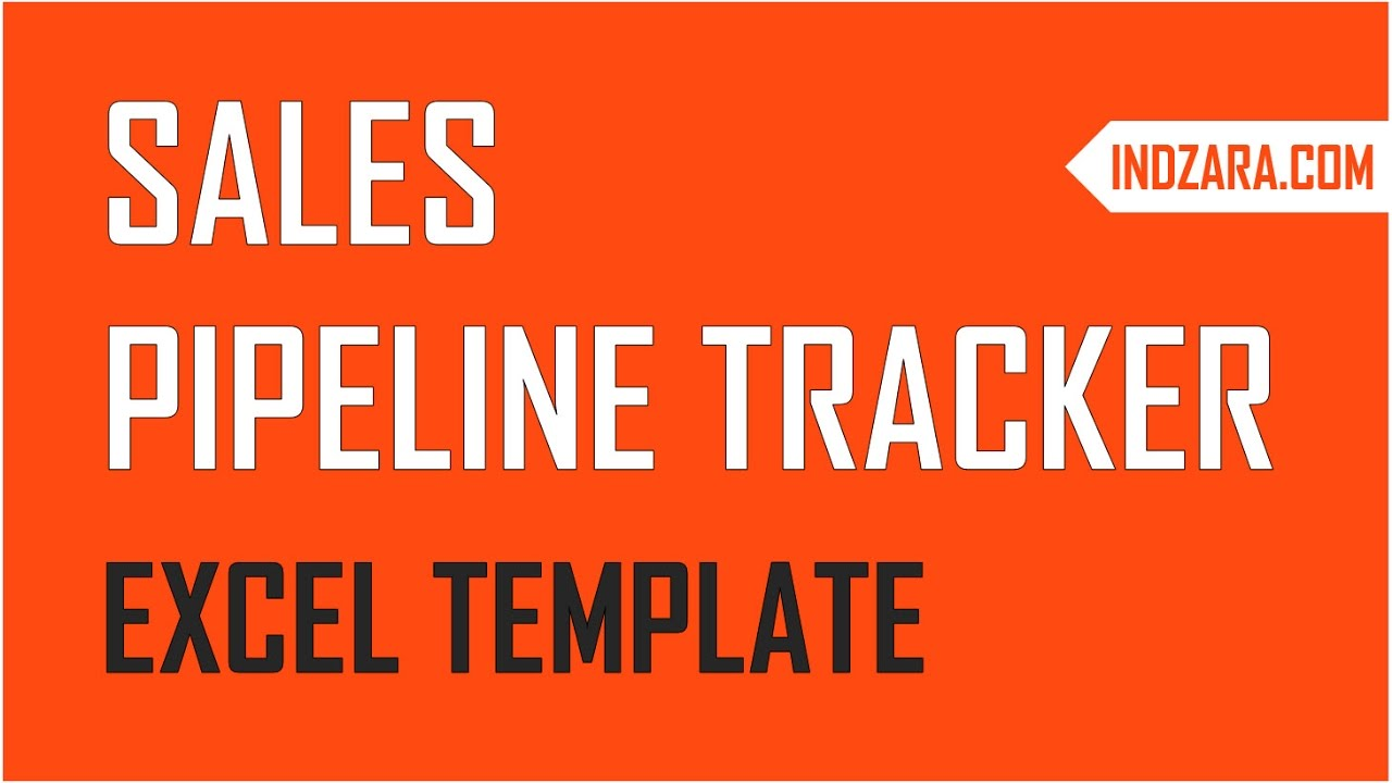 how to manage sales pipeline using free sales pipeline tracker excel