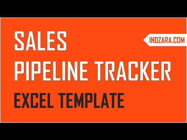 Sales Pipeline Tracker With Sales Funnel Free Excel Template