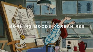 Morning Mood | Korean r&b playlist ⛅️☕️ For productivity