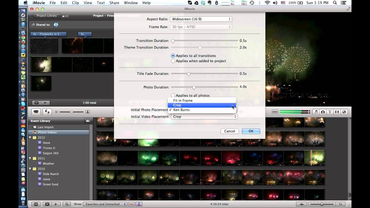 How to turn off ken burns effect in imovie youtube how to turn off ken burns effect in imovie ccuart Image collections