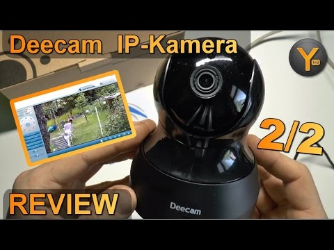 Installation & Funktionen: Deecam FI9831P / Wireless HD 720p IP-Kamera Netzwerkkamera