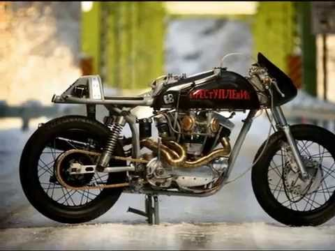 Cafe Racer Based On Harley Davidson XLCH Ironhead 1966